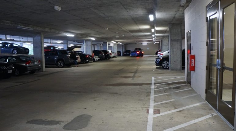 District 28, Parking Garage from Premier Patient Housing